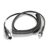 Bild von USB Cable: Connects LS34XX to VC5090, coiled 9' extended, rugged amphenol conn